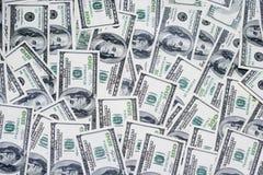 dollar hundra en Arkivfoton