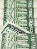 dollar hundra en Royaltyfri Fotografi