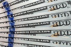 dollar hundra en Arkivfoto