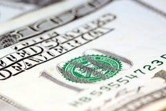 dollar hundra en för billsvaluta oss Arkivbild