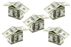 dollar hus Arkivfoton