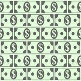 Dollar icons seamless pattern. Money dollar icons seamless pattern background Royalty Free Stock Photography