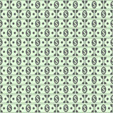 Dollar icons seamless pattern. Stock Images