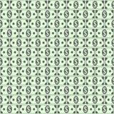 Dollar icons seamless pattern. Money dollar icons seamless pattern background. Ilustration Stock Images