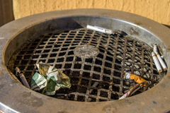 Free Dollar In An Ash-tray Stock Photography - 50438382