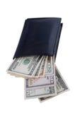Dollar innerhalb der Mappe Lizenzfreies Stockfoto