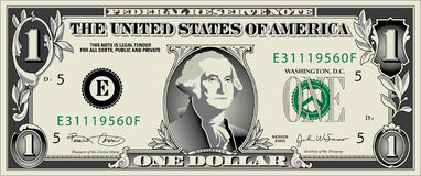 Dollar. jpg. A Stylized Drawing of a Dollar Bill