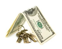 Dollar key Stock Photography