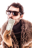 Dollar kiss Stock Images