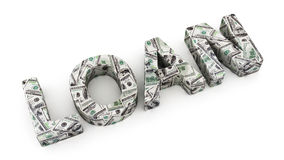 Dollar Loan Stock Images
