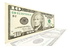10 Dollar Stockfotografie