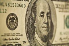 Dollar macro Royalty Free Stock Photo