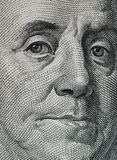 Dollar macro Royalty Free Stock Images