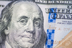 Dollar macro as background stock images