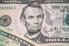 Dollar macro as background Stock Photo
