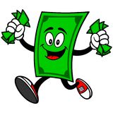 Dollar Mascot with Money Stock Photos