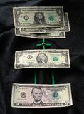 Dollar Mathematik Lizenzfreie Stockbilder
