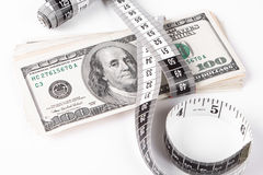 Dollar measure Stock Photos