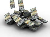 dollar miljon Royaltyfria Bilder