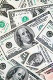 Dollar money background Stock Photography