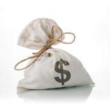 Dollar Money Bag Royalty Free Stock Photography