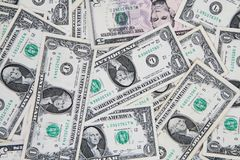 Dollar money banknote background. Dollar money banknote texture as nice finance background stock photos
