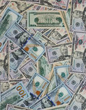 Dollar money banknotes texture background Stock Photo