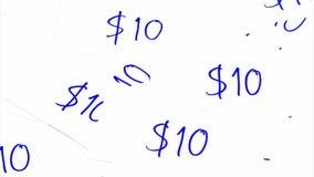 Dollar money concept stock video