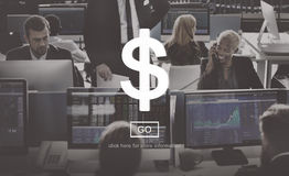 Dollar Money Currency Banking Concept Royalty Free Stock Photo