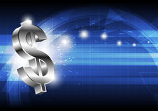 Dollar money icon Royalty Free Stock Images
