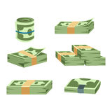 Dollar money symbol vector icon Royalty Free Stock Image
