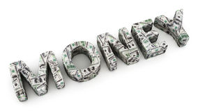Dollar Money Royalty Free Stock Photos