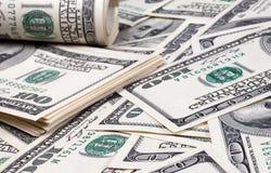 Dollar Nahaufnahme Stockfoto