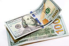 100 Dollar neue Banknoten Lizenzfreie Stockfotos