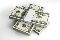 Dollar notes Stock Photos