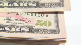 Dollar Notes. Stock Video Footage of Dollar Notes stock video footage