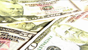 Dollar Notes stock video