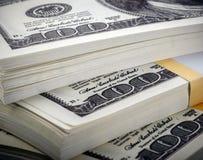 dollar packe Arkivbilder