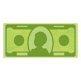 Dollar paper banknote Royalty Free Stock Images