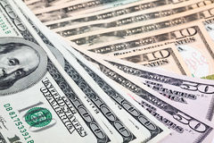 Dollar paper money Royalty Free Stock Photography