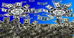 Dollar paradise Stock Image