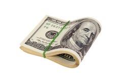 dollar pengar Royaltyfria Bilder