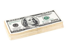 dollar pengar Arkivfoton