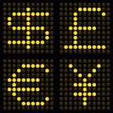 LED-Währungen Lizenzfreie Stockbilder