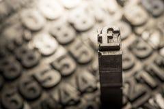 Dollar, Pfund, Geldumtauschzeichen Lizenzfreies Stockfoto