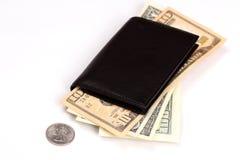 dollar plånbok Royaltyfria Foton