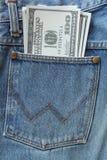 Dollar pocket Royalty Free Stock Photo