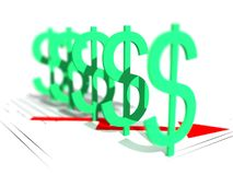 Dollar Power stock images