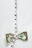Dollar-Pressung-niedrige Bedeutung Stockfotos