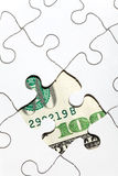 Dollar Puzzle Royalty Free Stock Image